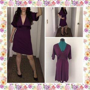 Sexy Dark purple minidress by H&M. Size 4